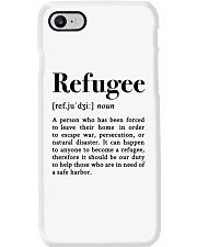Definition Refugee Phone Case tile