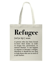 Definition Refugee Tote Bag tile