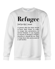 Definition Refugee Crewneck Sweatshirt thumbnail