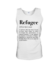 Definition Refugee Unisex Tank tile
