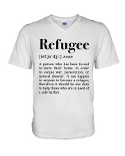 Definition Refugee V-Neck T-Shirt tile