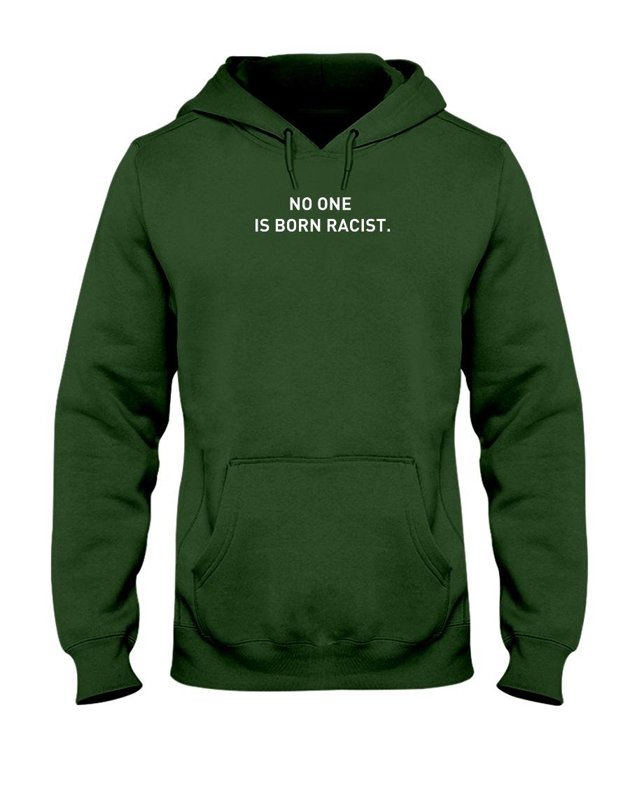NO ONE IS BORN RACIST Hooded Sweatshirt