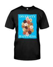Diversity Happiness Classic T-Shirt tile
