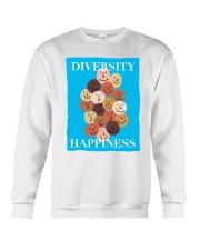 Diversity Happiness Crewneck Sweatshirt thumbnail