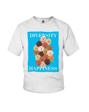 Diversity Happiness Youth T-Shirt thumbnail