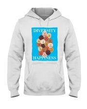 Diversity Happiness Hooded Sweatshirt thumbnail
