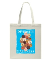 Diversity Happiness Tote Bag tile