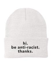 be anti-racist Knit Beanie thumbnail