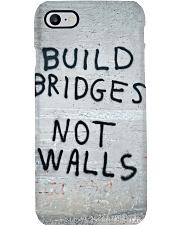 Build Bridges - Not Walls Phone Case i-phone-8-case
