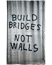 Build Bridges - Not Walls Window Curtain tile