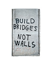 Build Bridges - Not Walls Hand Towel thumbnail