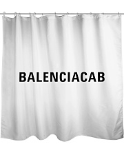 BALENCIACAB Shower Curtain front