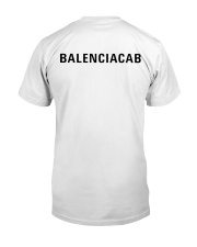 BALENCIACAB Classic T-Shirt back