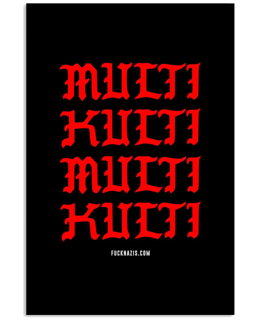 Multi Kulti 16x24 Poster