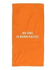 NO ONE IS BORN RACIST Beach Towel front