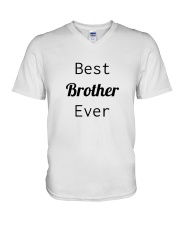 BEST BROTHER EVER V-Neck T-Shirt thumbnail