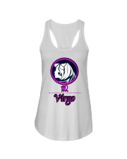 Virgo Pink  Ladies Flowy Tank thumbnail