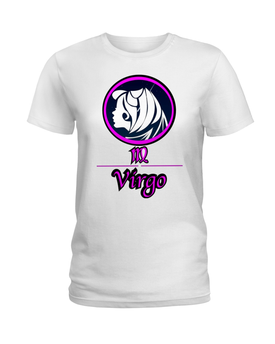 Virgo Pink  Ladies T-Shirt