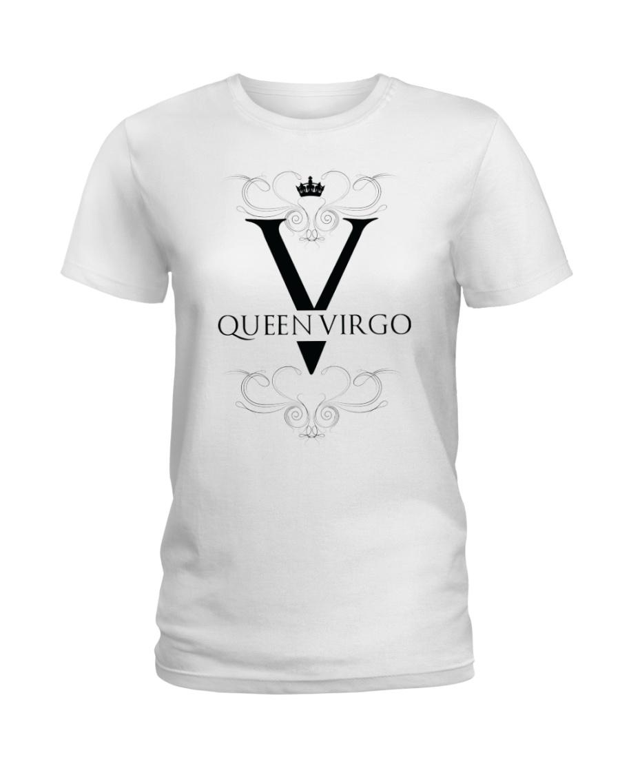 Queen virgo White  Ladies T-Shirt