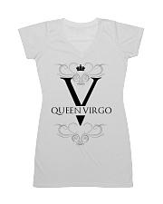 Queen virgo White  All-over Dress thumbnail