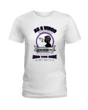 Three sides of a Virgo  Ladies T-Shirt front