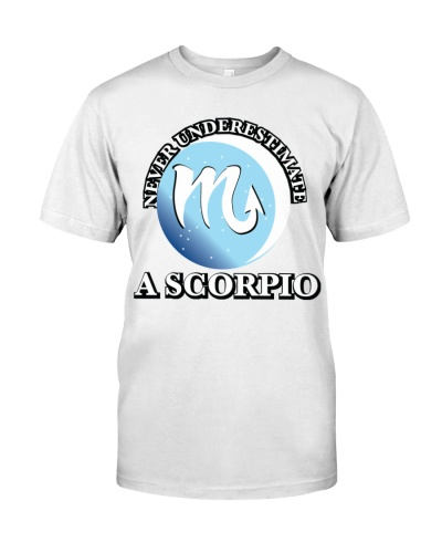 Never Underestimate a Scorpio