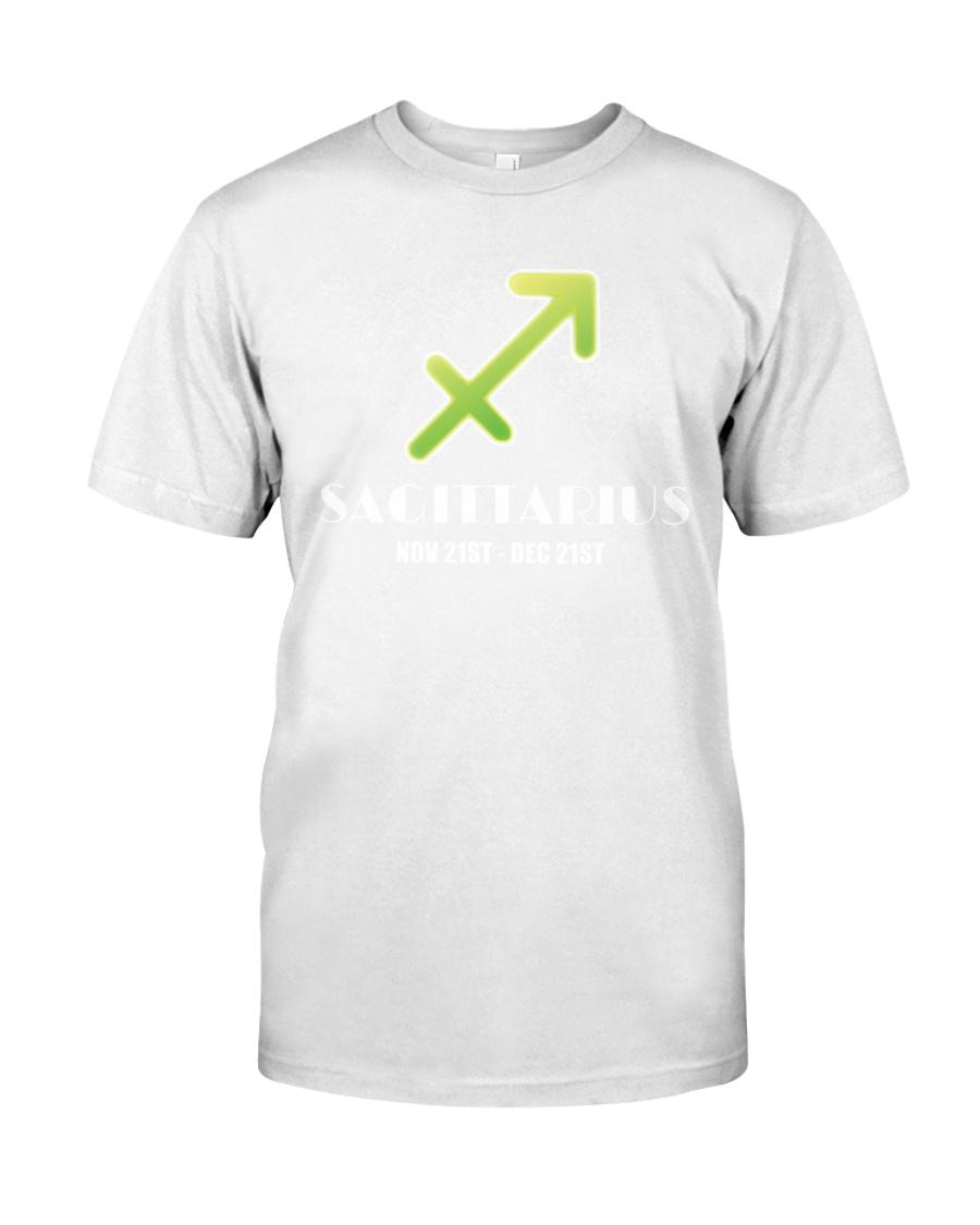 Sagittarius white  Classic T-Shirt