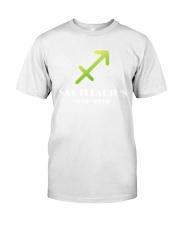 Sagittarius white  Classic T-Shirt front