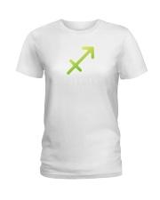Sagittarius white  Ladies T-Shirt thumbnail