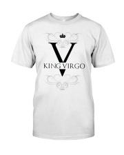 King Virgo black Design  Classic T-Shirt front