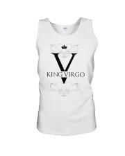 King Virgo black Design  Unisex Tank thumbnail