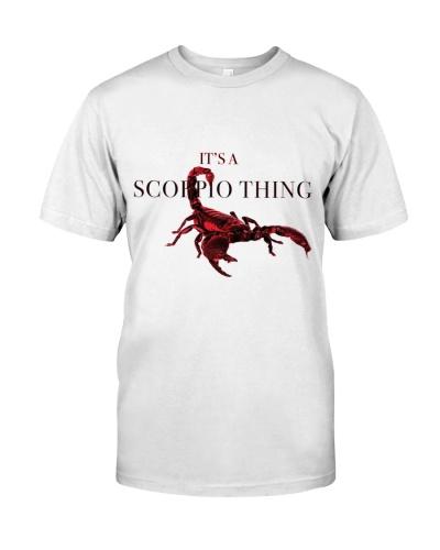 Its a scorpio thing