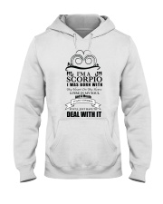 Im a Scorpio  Hooded Sweatshirt thumbnail