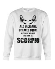 The Best are born Scorpio  Crewneck Sweatshirt thumbnail