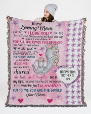 Limited Edition 50x60 - Woven Blanket aos-woven-throw-blanket-50x60-lifestyle-front-03
