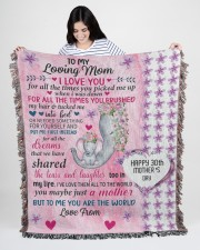 Limited Edition 50x60 - Woven Blanket aos-woven-throw-blanket-50x60-lifestyle-front-06