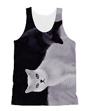 Cat All-over Unisex Tank thumbnail