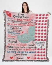 Limited Edition 50x60 - Woven Blanket aos-woven-throw-blanket-50x60-lifestyle-front-04