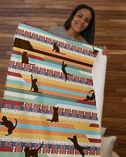 """Cat Sherpa Fleece Blanket - 50"""" x 60"""" aos-sherpa-fleece-blanket-50x60-lifestyle-front-09b"""