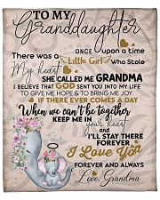 "To My Granddaughter Fleece Blanket - 50"" x 60"" thumbnail"