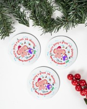 You are doing a great Job Mummy  Circle ornament - 3 pieces (wood) aos-cricle-ornament-3-pieces-wood-lifestyles-01