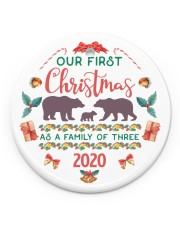 Limited edition Circle ornament - single (porcelain) front