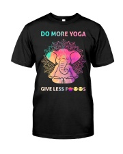 Do More Yoga Classic T-Shirt front