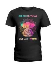 Do More Yoga Ladies T-Shirt tile