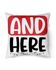 """Limited Edition Indoor Pillow - 18"""" x 18"""" back"""
