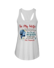 Still You Are My Queen Ladies Flowy Tank tile