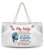 Still You Are My Queen Weekender Tote front