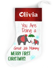 You Are Doing A Great Job Mommy  Christmas Stocking front