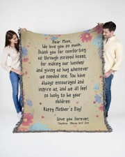 Limited Edition 60x80 - Woven Blanket aos-woven-throw-blanket-60x80-lifestyle-front-01