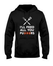 I Will Feed You Hooded Sweatshirt tile